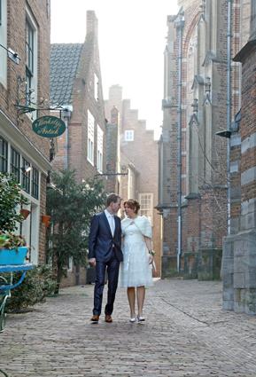 Voorbeeld bruidsfoto Foto Mireat